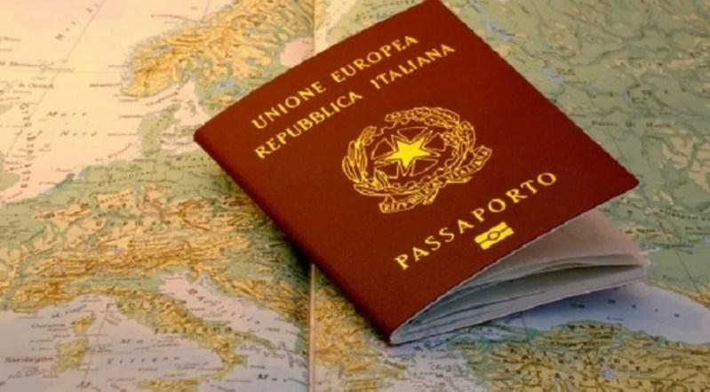 passaporto italiano in scozia