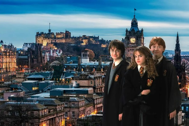 Harry potter luoghi di edimburgo