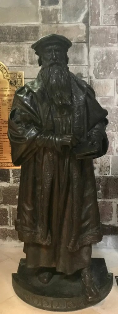 La statua di John Knox