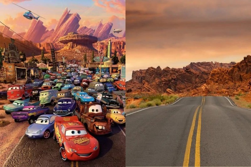 Le Location Disney Cars lungo la Route 66 negli Stati Uniti