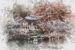 asia e il disegno del tempio