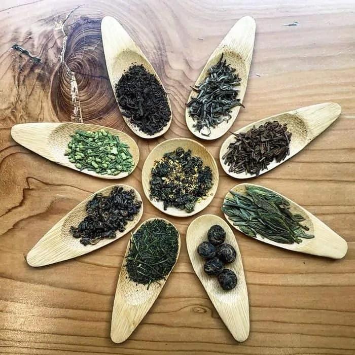 Tipologie di foglie di tè