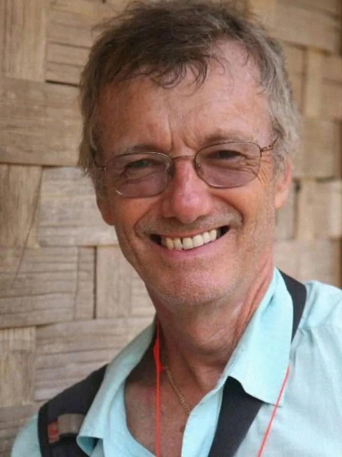 Tony Wheeler il fondatore della Lonely Planet