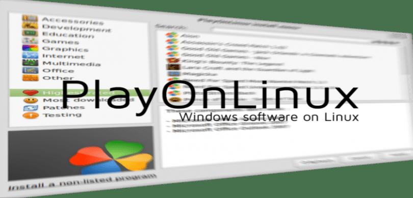 Como instalar o PlayOnLinux no Archlinux, Debian, Fedora, Ubuntu