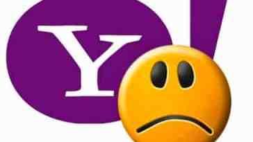 Yahoo enfrenta falhas em todo o mundo