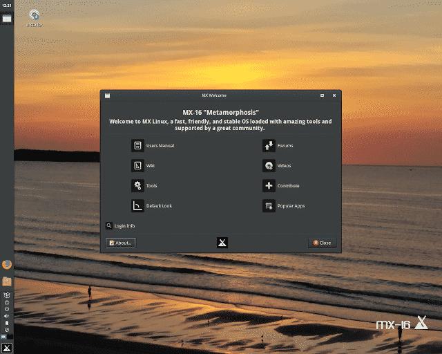 MX Linux 16