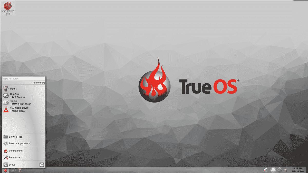 TrueOS 18.03