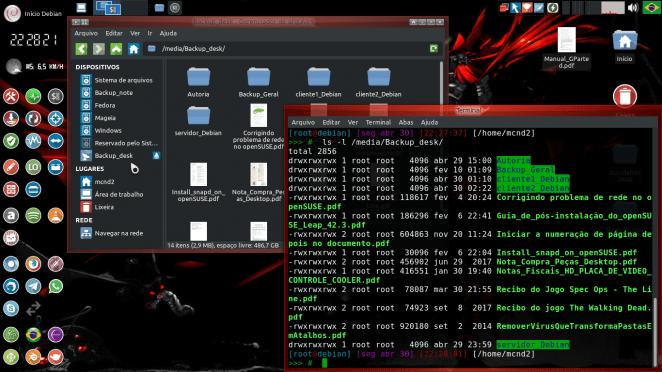 Debian - cliente notebook