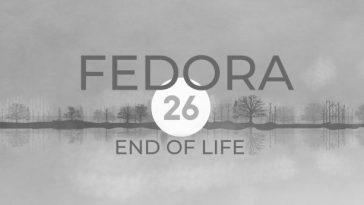Fedora 26 chega ao fim