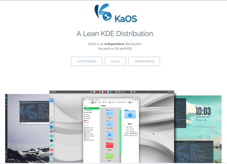 KaOS e 4MLinux lançam novas versões