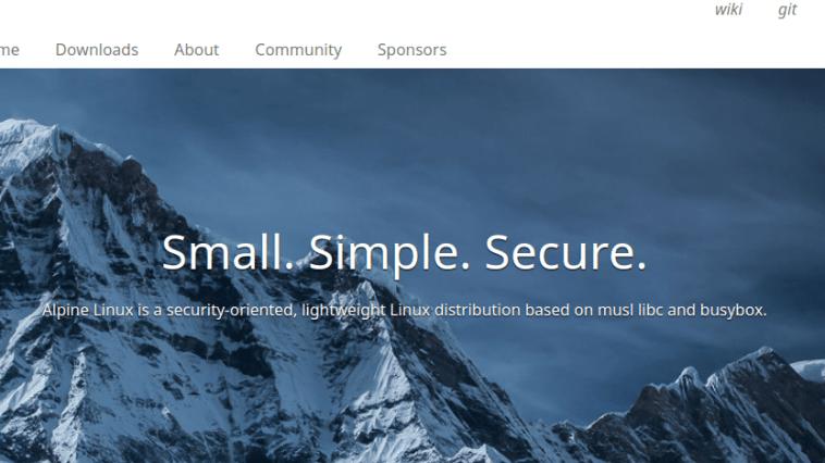 Lançada a distribuição Alpine Linux 3.12