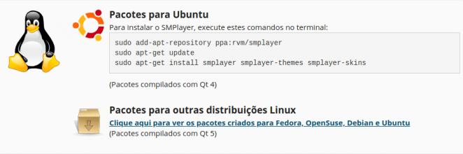 SMPlayer Ubuntu
