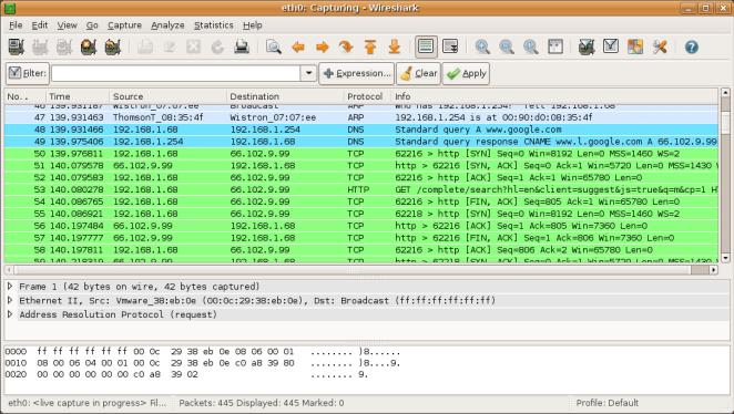 Wireshark chega à versão 2.6