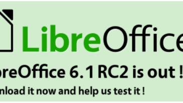 LibreOffice 6.1 ficará pronto em agosto