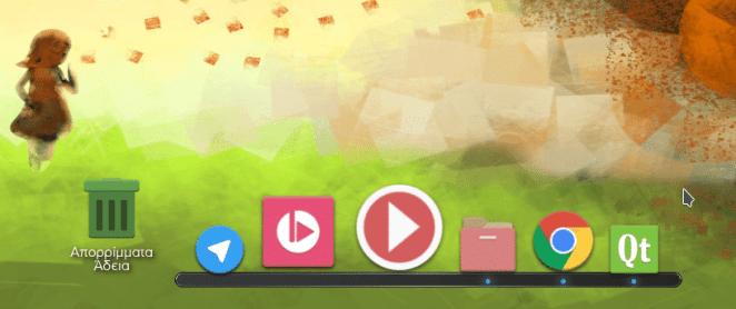Imagem do Now Dock, do mesmo desenvolvedor do Latter Dock