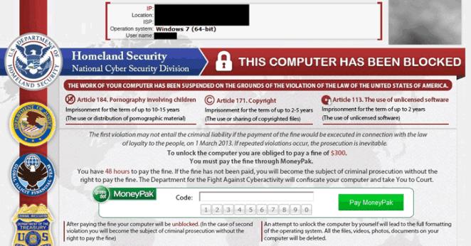 Ex-engenheiro de rede da Microsoft é condenado devido ao uso do Reveton ransomware