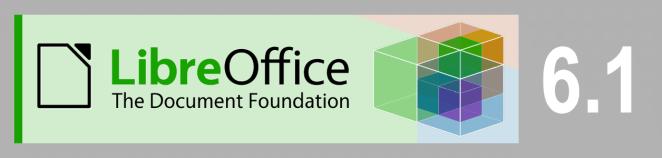 Confira as novidades do LibreOffice 6.1