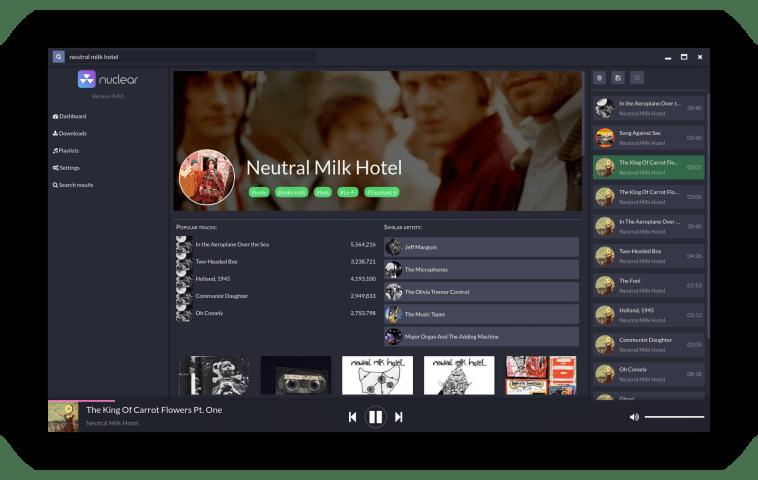 Nuclear Music Player no Ubuntu