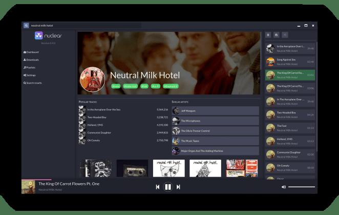 Como instalar o Nuclear Music Player no Ubuntu, Linux Mint e derivados