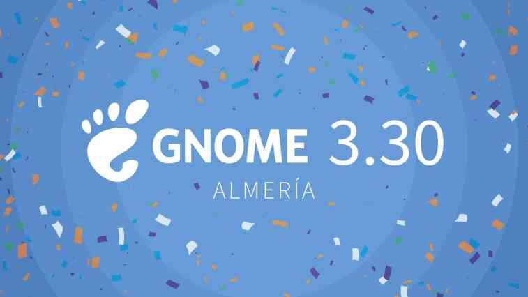 Lançado GNOME 3.30