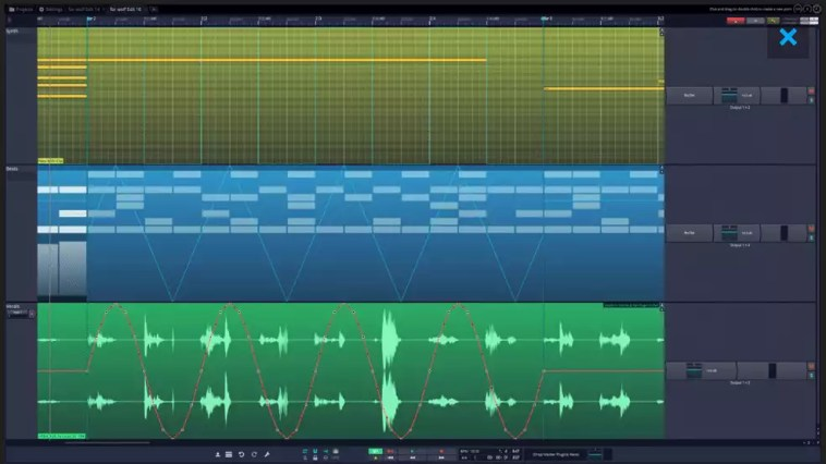 Conheça o editor gratuito Tracktion 7 Digital Audio Workstation