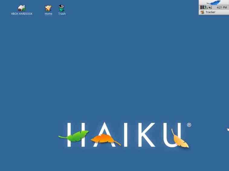 Após quase 6 anos, sai versão beta do Haiku