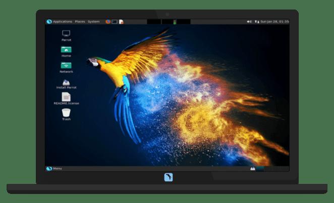 Tails, Parrot, OSGeoLive, Elive e Q4OS têm novas versões