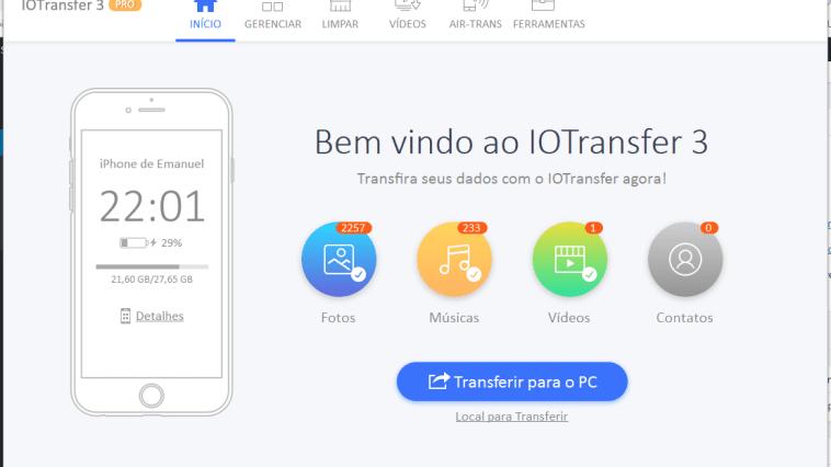 Conheça o IOTransfer e gerencie o seu iPhone/iPad em um único lugar!