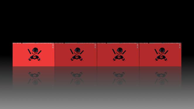 Papel de parede diferente em cada área de trabalho no XFCE e Compiz