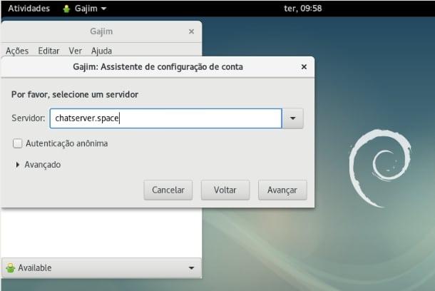 003 - Instalando cliente XMPP no Debian v3
