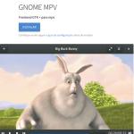 'Celluloid' é o novo nome do GNOME MPV