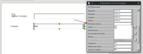 como criar formulários preenchíveis LibreOffice Writer