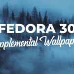 Usuários escolhem papéis de parede do Fedora 30