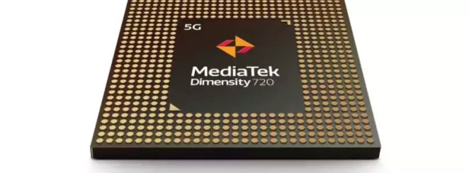 MediaTek anuncia o Dimensity 720 com 5G integrado