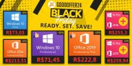 GOODOFFER24 reduz valores do Windows 10 e Office nesta Black Friday