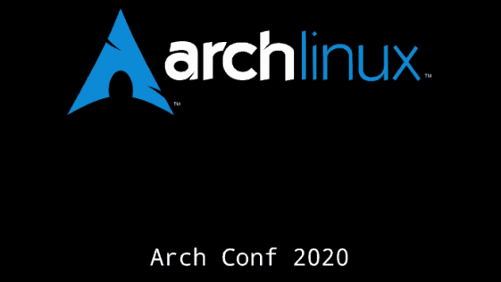 Arch Linux Conference 2020 libera material do encontro