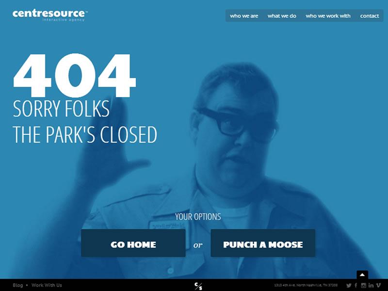 centre-source 404 sayfası
