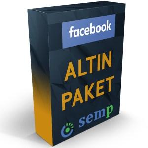 facebook reklam altın paket