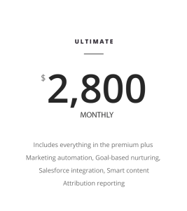 Marketing Price Plan ultimate