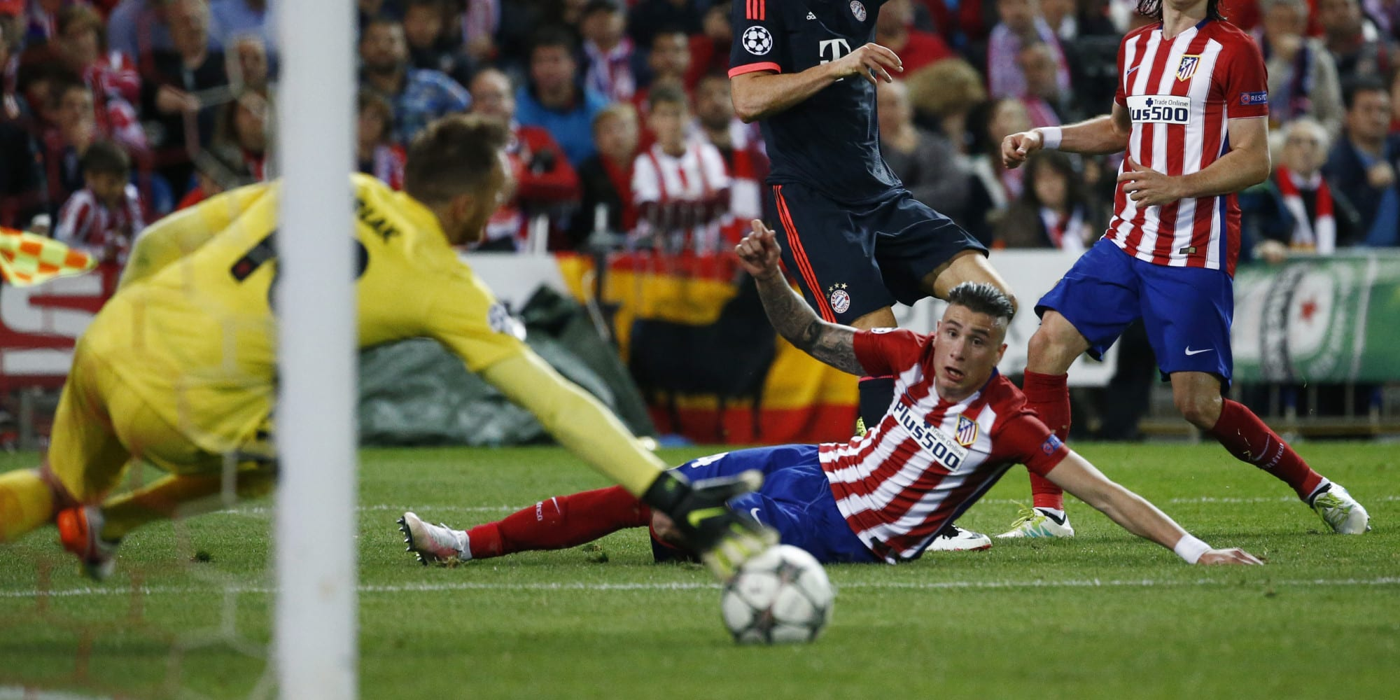 Atletico Madrid v Bayern Munich - UEFA Champions League Semi Final First Leg