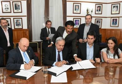 Se firmó un convenio de cooperación recíproca con la Cámara de Diputados de Buenos Aires