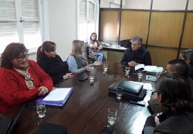 La Comisión de Salud recibió al profesionales Fisiólogos y Kinesiólogos