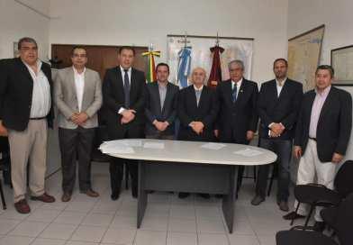 Senadores junto a Legisladores Bolivianos mantuvieron reuniones importantes con funcionarios del Poder Ejecutivo