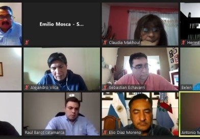Reunión de Comisiones del Parlamento del Noa con la participación del vicegobernador Marocco