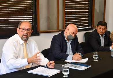 Camacho informó en el Senado el avance del plan de obras públicas en la provincia