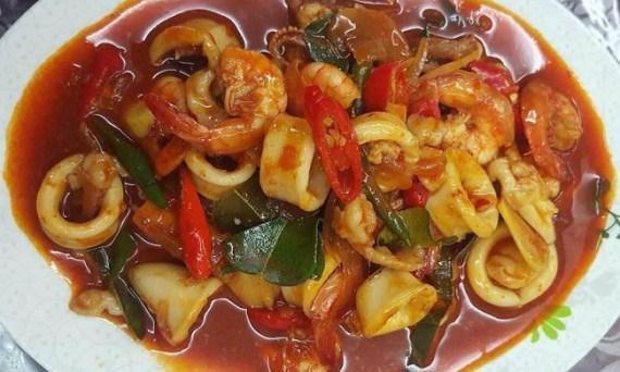 resepi-paprik-seafood