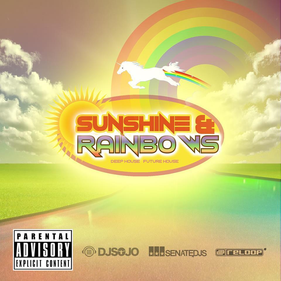 deep house-edm-sunshine-rainbows-edm radio-dance music