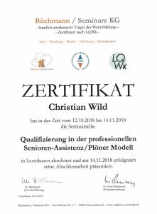 Zertifikat Senioren Assistenz 221x300 - Besondere Leistungen Hanau