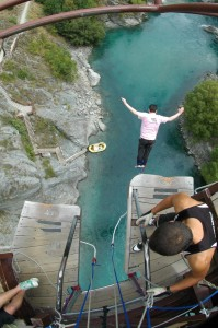 What does it feel like to do a bungee jump?