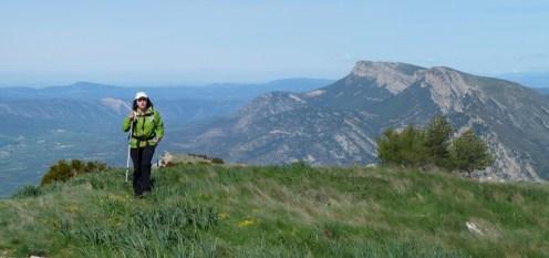 Ruta ST 69 Montsec de Rúbies. Després de la Portella Blanca, de camí al Tossal de la Torreta